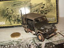 Corgi US50105 armée  US M151A1 Mutt Utilitaire Camion en 1:43 Echelle