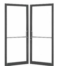2 New in Box Aluminum Storefront Narrow Pair of Doors & Frame swestauburngrace