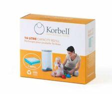 Korbell Standard Nappy Bin Refills, 16L - 1 Pack