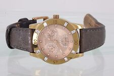 MADE BY FOSSIL RELIC TWO TONE CRYSTAL ACCENT ZR15678991206 30MWR100FT WATCH 1753