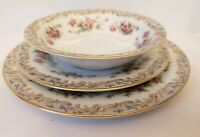 Noritake Somerset 3 Piece, Salad plate, Bread plate and Bowl  5317