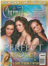 Charmed Magazine 19 Perfect Rose McGowan  Family Tree Poster Kelly Cuoco NM