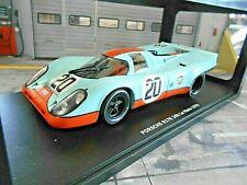 PORSCHE 917 K 1970 24h Le Mans #20 Gulf Wyer Siffert / Redman CMR 1:18
