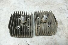 Yamaha Y33 YL1 YL 1 100 Twin Jet engine cylinder heads right left set