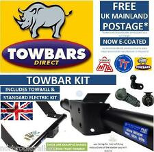 Towbar for Mitsubishi L200 4WD Warrior Pick Up 1996 to 2006 with Chrome Tubular