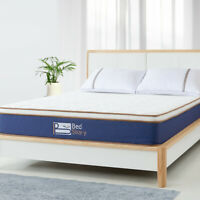 BedStory Queen Size Spring Foam Euro Top Mattress10 inch bed comfortable bedroom