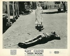 GARY COOPER GRACE KELLY HIGH NOON 1952 VINTAGE LOBBY CARD #2
