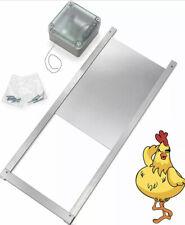 Happy Henhouse Automatic Chicken Coop Door Opener Kit Electric Auto Door Guard
