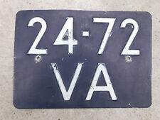 Nummernschild Kennzeichen Oldtimer LÖWE R.K.M. 27,5X19 JKG  GEPRÄGT Niederlande