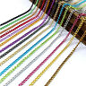 2 meters 2.8 mm Metal Chain Colorful Aluminum Chain for Jewelry Making Supplies