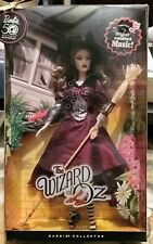 The Wizard of Oz Wicked Witch Of The East Barbie Doll 50th Anniversary - Nrfb