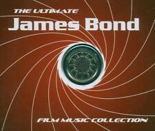 JAMES BOND 007 Ultimate Filmmusik 4 CD Box COLLECTION