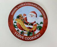Original Gourmet I Love Cookies Double Chocolate Chip Cookies Santa Sleigh Toys