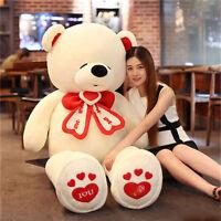 180cm Giant Huge Big Lovely Teddy Bear Plush Soft Stuffed Animal Doll Kids Gift