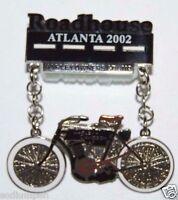 Minty 2002 Road House Atlanta HOG Harley Davidson Motorcycles Pin Pinback 1900's