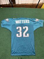 VTG Champion Philadelphia Eagles Watters #32 NFL Football Adult Size 40 Jersey