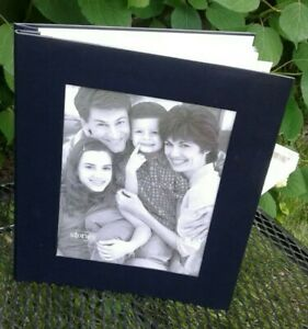 "HALLMARK ""STORIES"" PHOTO ALBUM   LARGE, HOLDS 8 X 10 PHOTO ON FRONT"