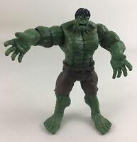 "Incredible Hulk Power Punch 6"" Figure Brown Pants Marvel Super Hero 2007 Hasbro"