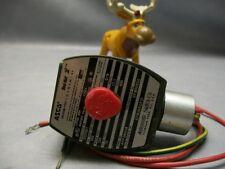 "ASCO EF8263G210 Solenoid Valve NC 120V 3/8"" NPT"