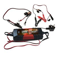 MAYPOLE Electronic Car Battery Charger 4A Fast/Trickle/Pulse Modes 4 AMP- MP7423