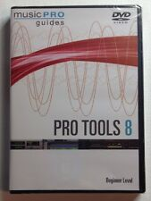 PRO TOOLS 8 - Beginner Level by Andrew Eisele (2009, DVD-ROM) NEW SEALED DVD!!