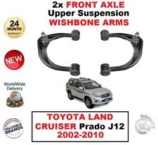 2x FRONT AXLE LH+RH Upper WISHBONE ARMS for TOYOTA LAND CRUISER Prado 2002-2010