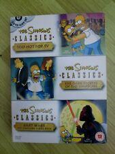 The Simpsons - Classics - 3 DVD Set ~Too Hot For TV; Bart Wars; The Dark Secrets