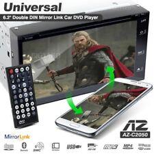 "AZUR AZ-C2050 6.2"" Double DIN Mirror Link Car USB SD DVD Player Stereo (Japan)"