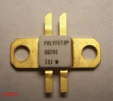 POLYFET SQ701 RF POWER VDMOS TRANSISTOR 45W