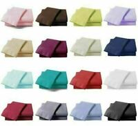 Good Rest Deep Fitted Sheet Bed 100% Cotton Single Double King Size 11 Color