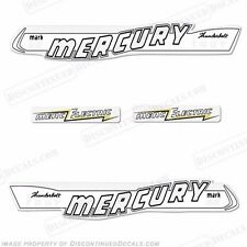 Mercury 1957 40hp Mark 55 Electric Outboard Decal Kit  -  Reproduction Decals