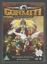 GORMITI - COMPLETE SEASON 2 - UK R2 DVD (5-DISC SET) - sealed/new - SERIES TWO