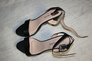 Sandaletten High Heels Größe 44 Andreas Machado schwarz Absatz Absatz 11,5 cm