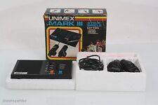 Unimex Mark III Vintage Pong Spielkonsole zum Anschluß an jeden Fernseher OVP