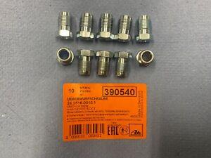 10x Fitting Verschraubung Überwurfmutter F Bördel M10x1 SW11 5mm Bremsleitung