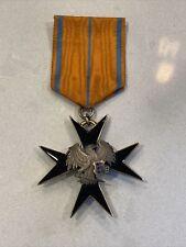 Estonia Order Of The Cross Black Eagle - Knight Grade?