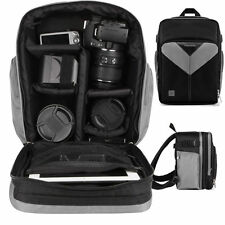 SLR DSLR Camera & Tablet Backpack Bag for Canon EOS Rebel T5 & T5i 700D 5D Mark
