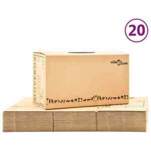 vidaXL 20x Cajas de Mudanza de Cartón XXL Embalaje Almacenamiento Paquete