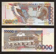 ST. SAINT THOMAS & PRINCE 50000 50,000 Dobras, 2010, P-68, UNC