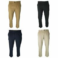 EX M&S Marks And Spencer Collection Slim Fit Pure Cotton Chinos Trousers