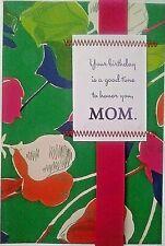Honoring Mom On Her Birthday Card