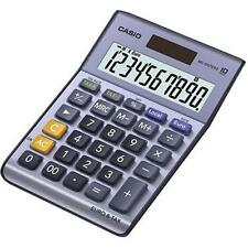 Casio MS100TER Desk Calculator with Independent Memory Euro Conversion - Grey