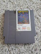 RARE Nintendo NES Game GAUNTLET II 2 Fighting Game