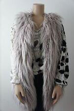 THOM BY THOMAS RATH * Fake Fur Fell Weste * Zottelig Flieder * Design * Gr. 44