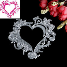 Heart Lace Metal Cutting Dies Stencils DIY Scrapbooking Album Paper Card Craft