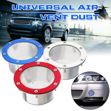 Universal Car Racing Air Duct Grille Bumper Vent Inlet For Cold Air Intake  NEW
