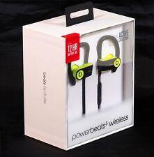 Beats By Dr. Dre Powerbeats3 Wireless In-Ear Headphones - Shock Yellow   Sealed