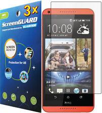 3x Ultra Clear Hd Lcd Screen Protector Guard Cover Film Htc Desire 800 816 (A5)