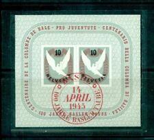 Schweizer Briefmarken mit BPP-Signatur