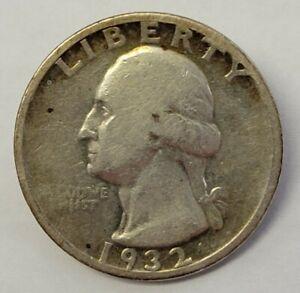 1932 S Washington Quarter 25c